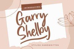 Garry Shelby Stylish Handwritten Product Image 1