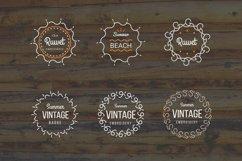 24 Vintage Circle Badges Product Image 6