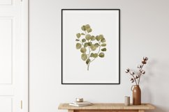 Watercolor Leaves Wall Art, Leaf Wall Print, Home Wall Decor Product Image 2