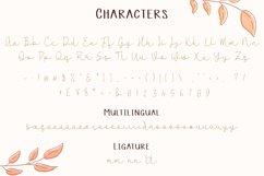 Cannodya   Handwritten Monoline Web Font Product Image 5
