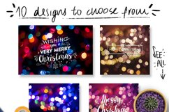 Christmas lights: lettering + more! Product Image 5