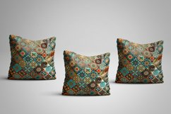 Ethnic tile seamless pattern collection Product Image 3