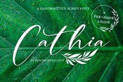 Web Font Cathia Script Font Product Image 1