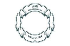 Vintage style labels set. V2 Product Image 2