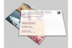Insurance Renewal Postcard Template Product Image 2