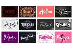 Mega Exclusive Font Bundle - 350 Font Product Image 22