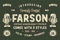Farson - Vintage Typeface Product Image 1