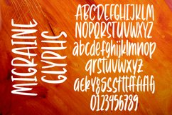 Migraine - Tall Handlettering Brush Font Product Image 5