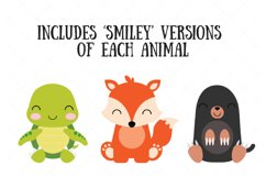 Woodland Baby Animals Clipart | Forest Animal Clipart Product Image 2