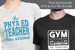 Phys Ed Teacher - School SVG and Cut Files for Crafters Product Image 2