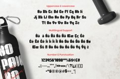 Web Font Bruse Display Font Product Image 2
