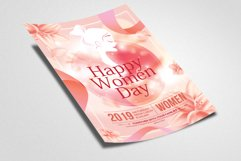 Happy Women's Day Flyer Template Product Image 2