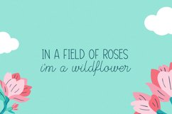 Wildflowers in Spring Font Duo Product Image 3