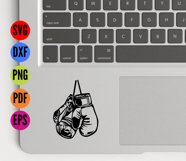 Boxing Gloves SVG Cutting File  Product Image 3
