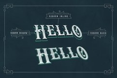 Reborn Layered Typeface + Extras Product Image 4