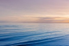 Beautiful light sunset over Baltic sea. Product Image 1