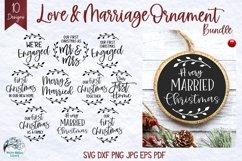 Mega Christmas Ornament SVG Bundle 6 | Round Christmas SVGs Product Image 5