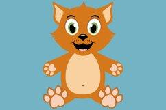 Cat and Dog Bundle SVG Cut Files, pet clipart Product Image 4