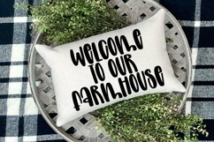 Web Font Magnolia Garden - A Quirky Handlettered Font Product Image 4