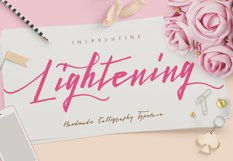 Lightening Script - Font Duo Product Image 1