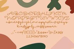 Web Font Magdaly - Monoline Script Font Product Image 3