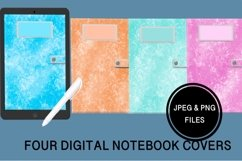 Four Digital Notebook/Planner Covers Product Image 1