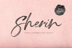 Sherin SVG Font Product Image 1