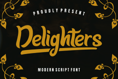 Delighter Font Product Image 1