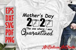 Mothers Day 2020 Svg Quarantined Mothers Day Svg Funny Svg Product Image 2