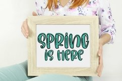 Web Font Among The Tulips- A Quirky Handlettered Font Product Image 3
