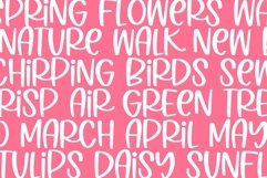 Web Font Spring Poppy - A Quirky Handwritten Font Product Image 5