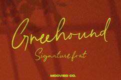 Greenhound Signature Product Image 1