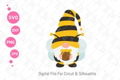 Cute Bumble Bee Gnomes svg | Gnomes Honey png| svg png dxf Product Image 3