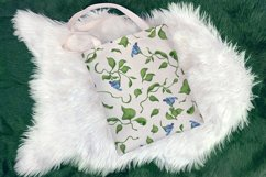 Hummingbird and fantasy flora Product Image 2