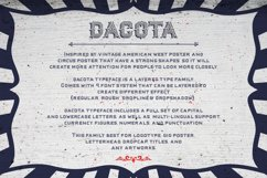 Dacota Layered Typeface & Extras Product Image 3