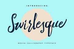 Swirlesque Typeface Product Image 1