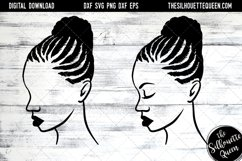 Afro Hair - Braided Bun Product Image 1