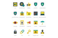 60 Security Icons Product Image 3
