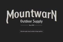 Scouthels Typeface - Clean Sans Font Product Image 2