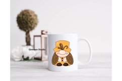 Gnome clipart, gnome png, sublimation, sticker planner Product Image 2