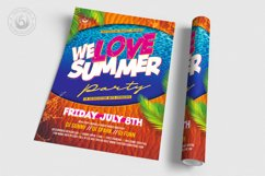 Beach Party Flyer Template V8 Product Image 3