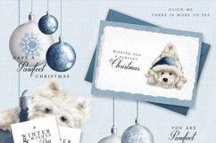 Westie Dog Illustration Set + Bonus Patterns & Alphabet Product Image 3