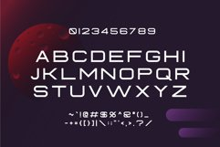 Fearce Typeface & Space Flyer Product Image 3