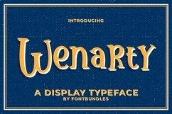 Web Font Wenarty Product Image 1