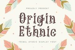 Origin Ethnic - Display Font Product Image 1