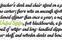 Martinaz typeface layout 7