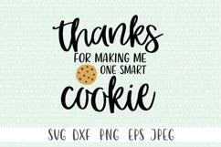 One Smart Cookie svg | Teacher svg | Teacher Gift svg Product Image 3