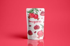 Pomegranate hand drawn clipart Product Image 3