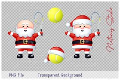 Merry Christmas and Happy New Year. Tennis. Product Image 4