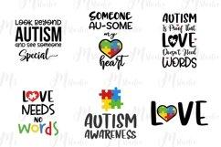 Autism Quotes svg bundle Product Image 5
